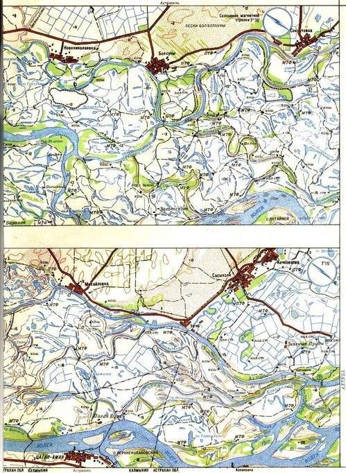 Карты Новониколаевка - Болхуны - Сокрутовка, Михайловка - Бугор - Сасыколи