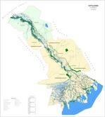 Представлена карта-схема лесов Астраханской области