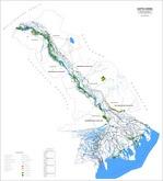Представлена Карта-схема распределение лесов по классам пожарной опасности