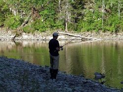 Руководство рыбака для рыбалки на Ахтубе и Волге: Ловя на жерлицы с мормышкой