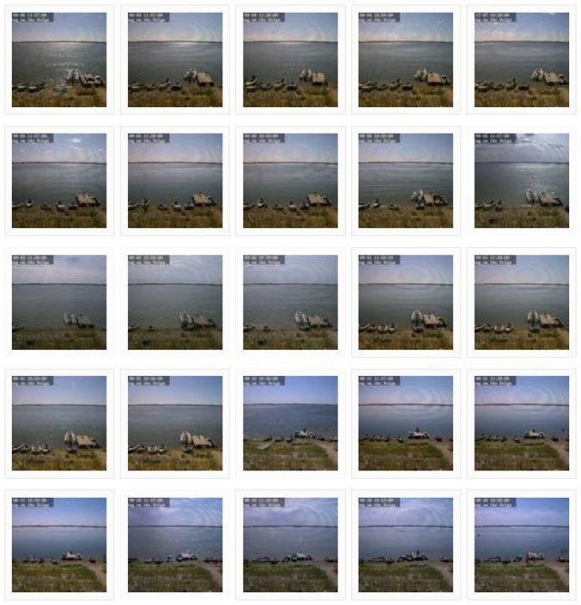 Веб-камера (webcam / web-camera) на берег рыболовной базы на Волге