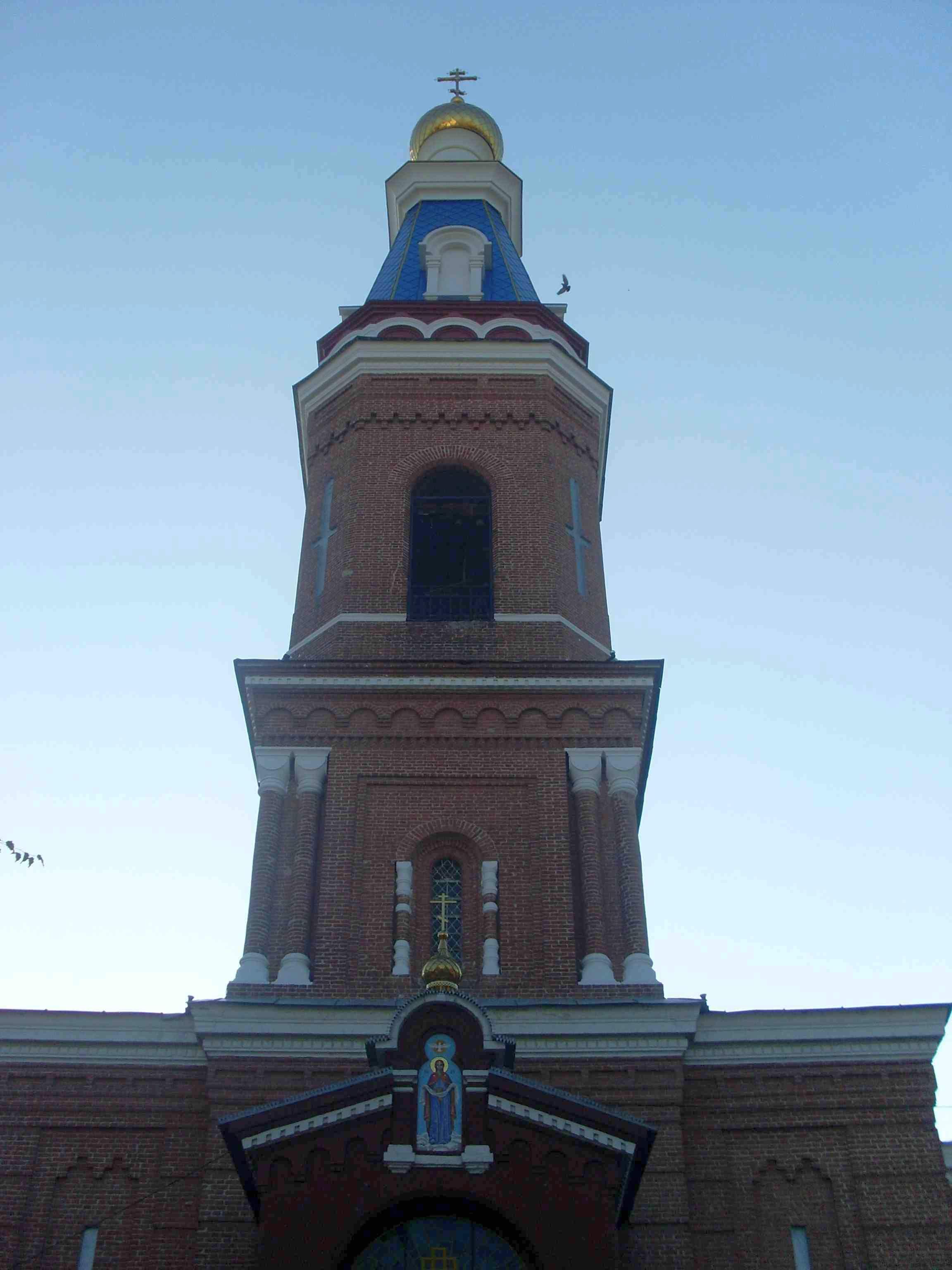 Покровский кафедральный собор. Город Астрахань.