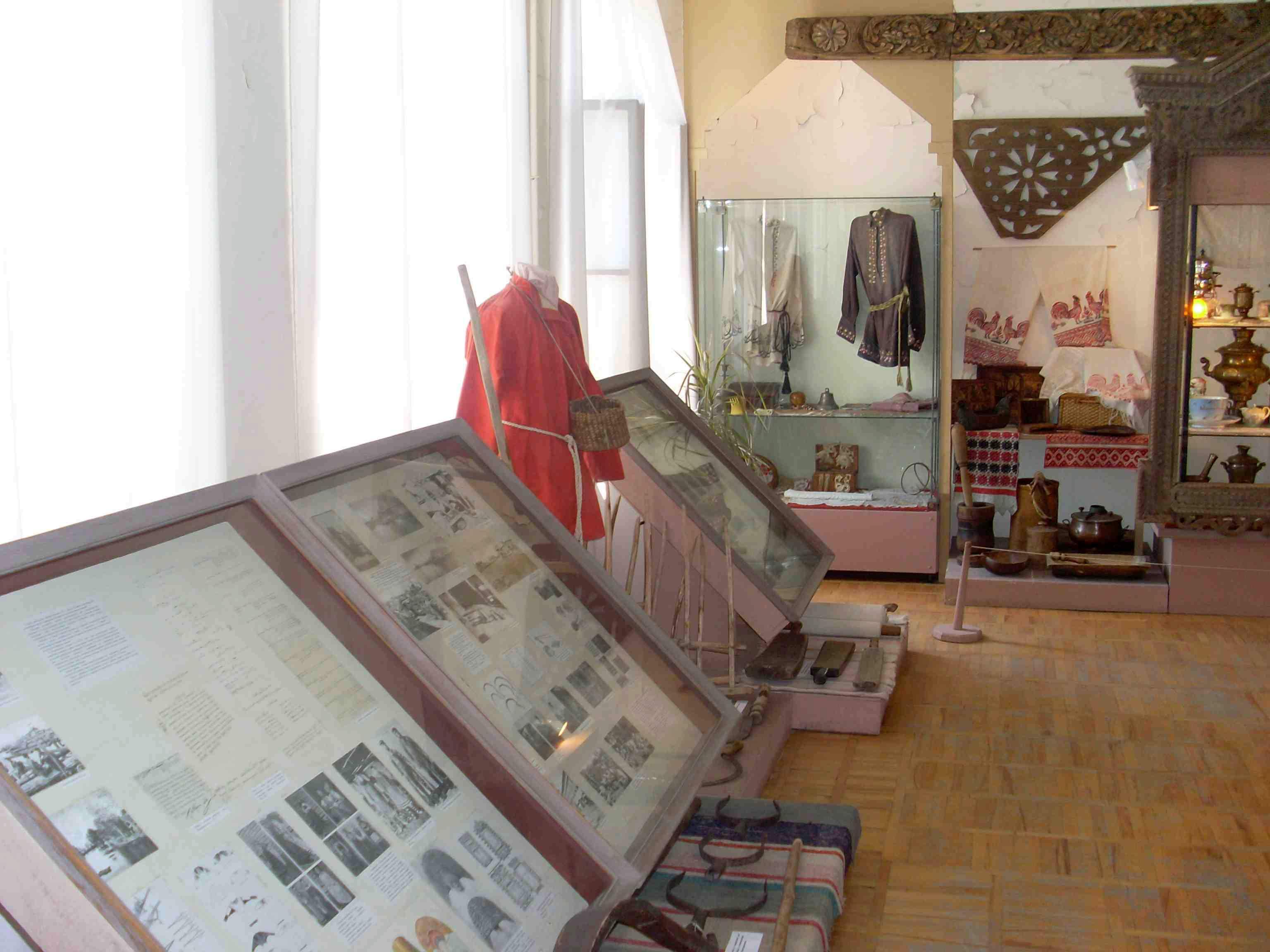 Этнографический музей города Астрахань. Находится в Кремле.