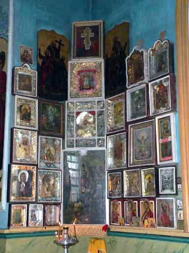 село Никольское, храм Рождества Пресвятой Богородицы